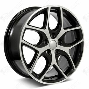 17 Svt Focus Style Wheels Black Machined Fits Ford Fusion Focus 5x108 Rims