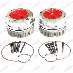 2 Pcs Manual Locking Hub For Dana 44 Gm 4x4 19 Splines Ford Jeep Dodge Chevy