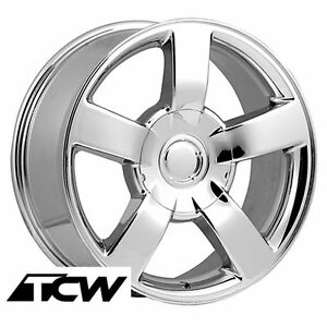 20 Inch Chevy Silverado Ss Oe Replica Chrome Wheels Rims Fit Silverado 1999 2018