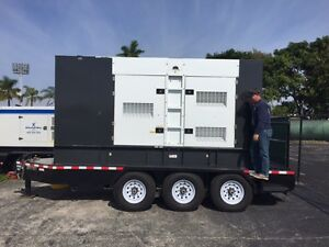 2015 400 Kw Pwr Generator With Volvo 511 Hp Diesel 41 House Of Run Time