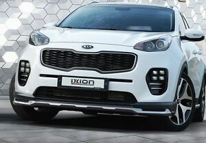 Ixion Front Lip Add On Kit Front Lip For Kia Sportage Ql 2016