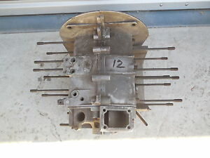 Porsche 356 C Engine Case 713474 64 type 616 15 With Third Piece C 12