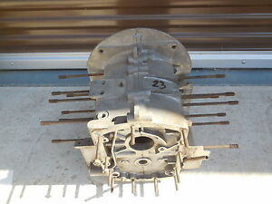 Porsche 356 Engine Case 63 no Third Piece C 23