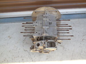 Porsche 356 1600 58 Engine Case With 3rd Piece no Number C 11