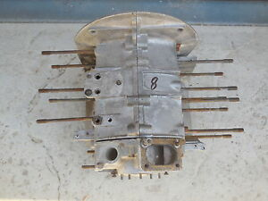 Porsche 356 A T1 56 63314 Engine Case With Third Piece matching type 616 1 C 8
