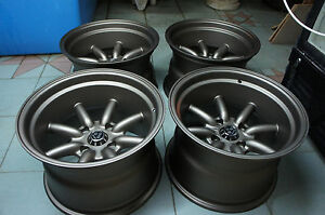 Jdm 15 X 10 Miata Mx5 Mx 5 Pcd100x4 Wheels Civic Watanabe Rkr Roadster Rs E30