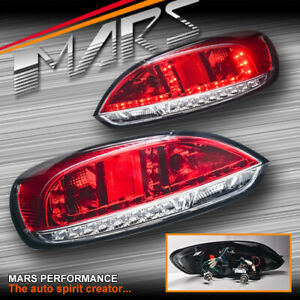Clear Red Led Tail Lights Led Indicators For Vw Volkswagen Scirocco 1s My08 14