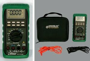 Greenlee Dml 430 Logger 43k Digital Multimeter Dml430 Dmm Cover Case Etc