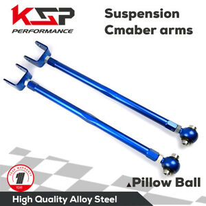 Adjustable Rear Camber Arm Kit Alignment Fit Bmw 3series 92 05 E36 E46 Z4 E85 M3
