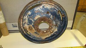Massey Ferguson To20 Tractor Front Rim 4 X 19