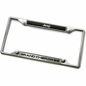 Jeep Grand Cherokee Metal Chrome License Plate Frame
