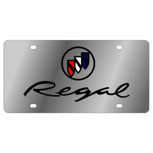 Stainless Steel Plate Buick Regal License Plate Frame 3d Novelty Tag