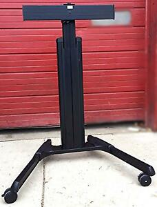 Chief Lpaub Large Fusion Manual Height Adjustable Mobile Cart For Video Freeship