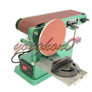 220v Desktop Multifunction Combination Sander Electric Belt Amp Disc Sander