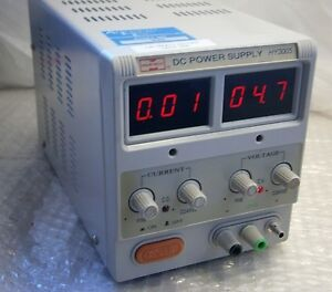 Mastech Dc Power Supply 30v 5a Hy3005 In Good Condition
