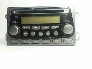 1oem Honda Elemen Xm Radio Cd Disc Player Aux Stereo Unit Receiver 2003 04 05 06
