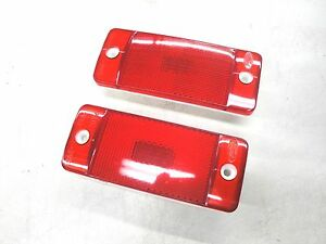 70 71 72 Ford Truck F100 F250 Rear Red Side Marker Light Lens New