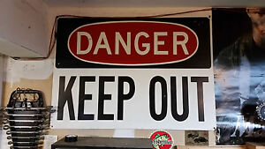 Danger Keep Out Sign Road Sign Traffic Sign Construction Sign Metal