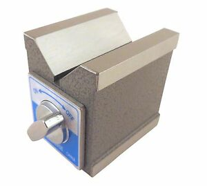 Magnetic V Block Magnetic On 3 Sides 2 875 High X 2 25 Wide By 3 5 Deep Mvb