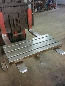36 X 17 X 3 Steel Weld T slotted Table Cast Iron Layout Plate Weld Jig 3 Slot