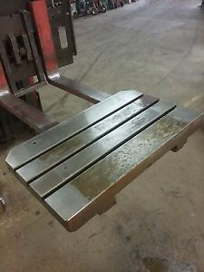 30 X 18 X 4 Steel Layout Welding Table T Slot Cast Iron 3 Slot_jig_weld Table