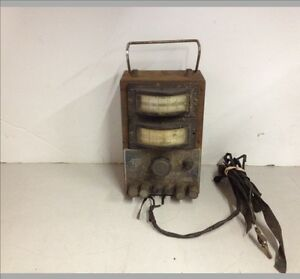 Vintage The Electric Auto Lite Co St 232a P e t Set Voltage Meter
