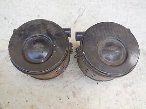 Porsche 356 Zenith Carburetor Air Cleaners Original Knecht Left Right