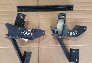 Fisher 7167 Push Plates For Minute Mount Snow Plow Dodge Ram 1500 02 03 04 05