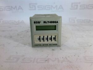 Philips Ecg Rly4996a Programmable Time Delay Relay 10amps 240vac 30vdc