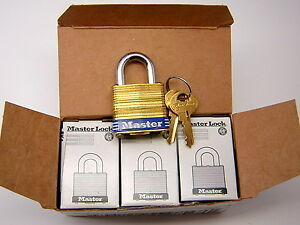 6 American 8ka 1 1 8in 29mm Wide Laminated Brass 4 Pin Padlock Keyed Alike