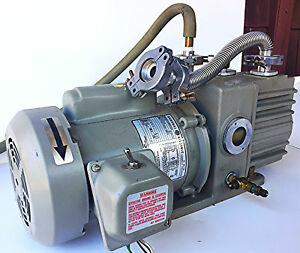 Edwards Two Stage D2a Trivac Vacuum Pump Watch Video Of Unit Working Free Ship