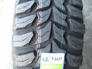 4 New 33x12 50r18 Inch Crosswind Mud Tires 33125018 12 50 33 1250 18 M t Mt R18