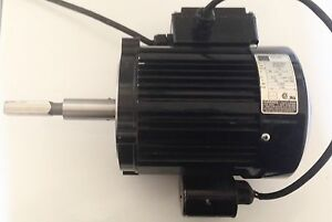 Bodine Industrial Single Phase Electric Motor 48x6bfci 1750 Rpm 1 3 Hp