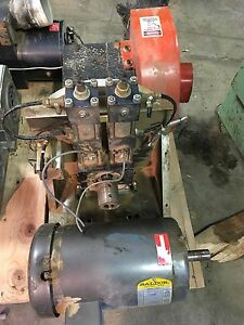 Cnc Router Saw Head Assembly saw Duty Motor Removed From Working Cnc Unit 5 Hp