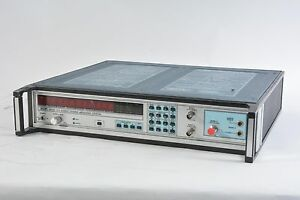 Eip 578 Source Locking Microwave Frequency Counter 10mhz 26 5ghz Opt 05 06 Oven