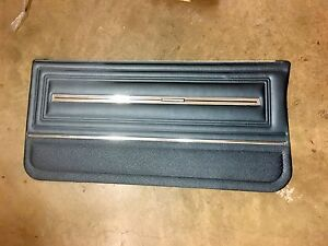 1966 Chevrolet Chevelle El Camino Pre Assemble Dark Blue Front Door Panel