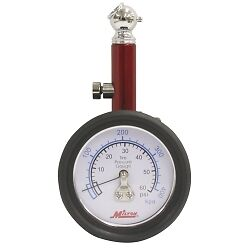 Milton Industries S 932 Dial Tire Gauge 0 60 Psi 2 Lb Increments
