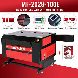 Co2 Laser Engraving Machine Cutting Engraver 40w Laser Tube Safe Durable Use