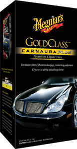 Meguiars Gold Class Carnauba Plus Premium Liquid Wax 16 Oz Megg 7016