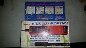Snap On Mt2700 Dis kv Igntion Probe Included Case