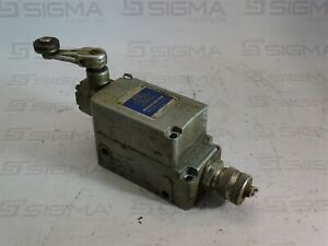 Micro Switch 201ls1 Precision Limit Switch W 6pa121 Roller Lever Arm