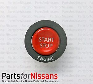 Genuine Nissan 2009 2015 Gt r Ignition Push Button Start Starter Switch New Oem