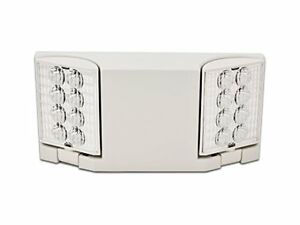 Howard Lighting Hl0223l w White Case housing Led Emergency Light Fixture