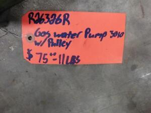 R26326r Gas Water Pump 3010 With Pulley By John Deere As Shown