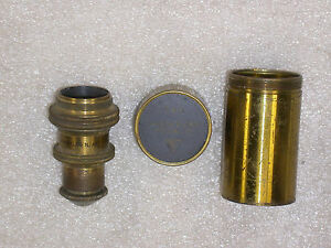 Vintage Bausch Lomb Optic Co 4 Mm Microscope Objective Canister