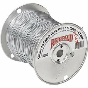 Electric Fence Wire 1 4 17 Gauge
