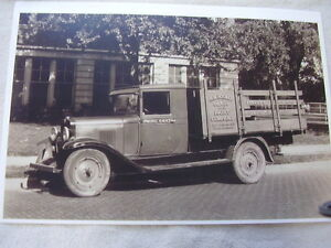 1930 1931 Chevrolet Light Duty Stake Side Truck 11 X 17 Photo Picture