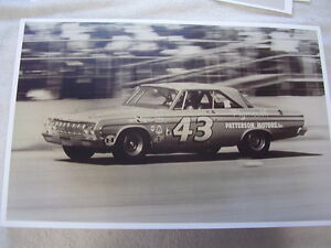 1964 Plymouth Richard Petty Car 43 11 X 17 Photo Picture