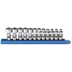 Kd Tools 80311 12 Piece 1 4 Drive Metric 6 Point Flex Socket Set