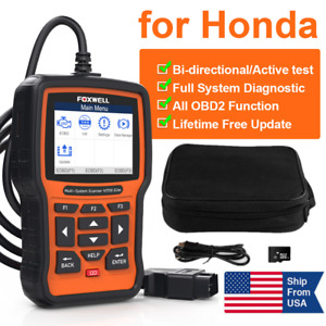 For Honda Acura Abs Srs Airbag Dpf Tps Brt Multi System Foxwell Nt510 Scanner